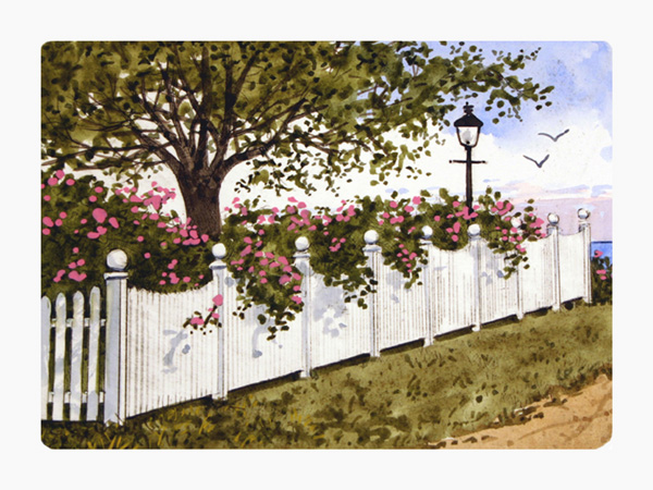Cape Cod Picket Fences Struna Galleries Of Brewster And